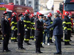 Premierea pompierului sucevean