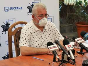 """Ion Lungu: """"Aproximativ 50% dintre profesorii din municipiul Suceava s-au testat, avem până astăzi confirmate 18 cazuri la profesori"""""""