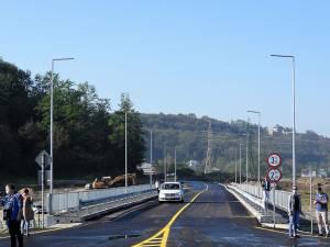 Prima porțiune a rutei alternative, între Centru și zona Bazar, a fost dată în folosință