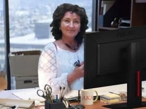 Purtătorul de cuvânt al DSP Suceava, Gabriela Băncilă