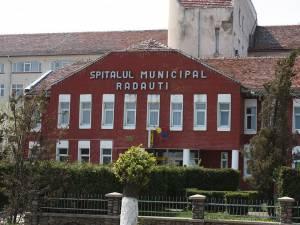 Bărbatul a fost transportat la Spitalul Municipal Rădăuți