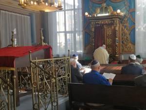Evreii suceveni au celebrat sâmbătă Anul Nou
