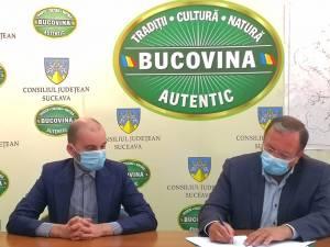 Gheorghe Flutur a semnat contractul pentru întocmirea strategiei de dezvoltare a județului