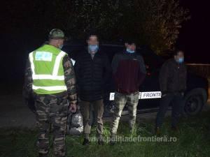 Migranți africani reținuți la Vicovu de Sus, după ce au pătruns ilegal în România
