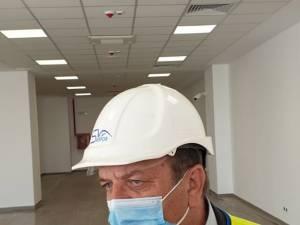 Președintele CJ Suceava, Gheorghe Flutur, spune că noul terminal al aeroportului va fi finalizat în perioada imediat următoare
