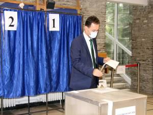 Marian Andronache a votat pentru schimbarea în bine a Sucevei