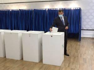 Ioan Bogdan Codreanu a votat pentru ca județul Suceava să recupereze cei 30 de ani pierduți până în prezent