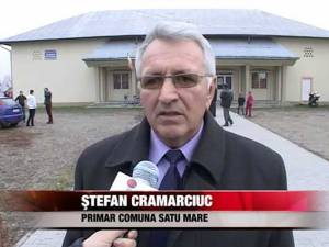 Ștefan Cramarciuc, primarul comunei Satu Mare, internat la spital cu Covid