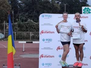 Florina Luca Ilie şi Gheorghe Berdei au devenit campioni naționali masters