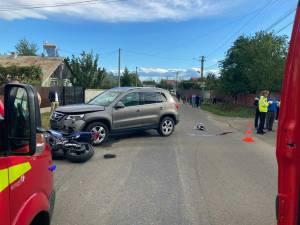 Accidentul în care a murit tânărul motociclist