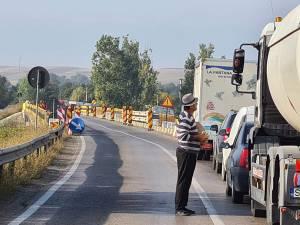 Podul de la Milișăuți, o problemă acută a traficului la nivel de drumuri naționale