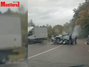 Accident violent în pădurea de la Ilișești