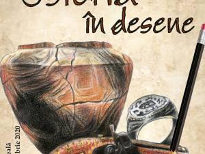 """""""Istoria în desene"""", atelier de creativitate online"""