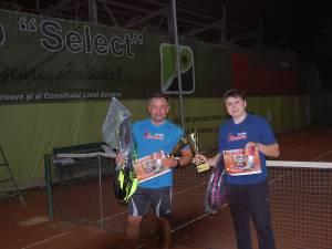 Lucian Darea și Silviu Mugurel Airoaiei au jucat finala mare a Categoriei Secundară -40