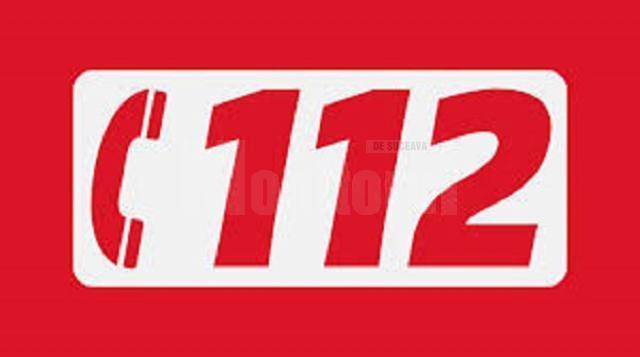 Poliția orașului Milișăuți a fost alertată prin apel la 112