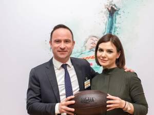Daniel Kearvell și Gabriela Popescu