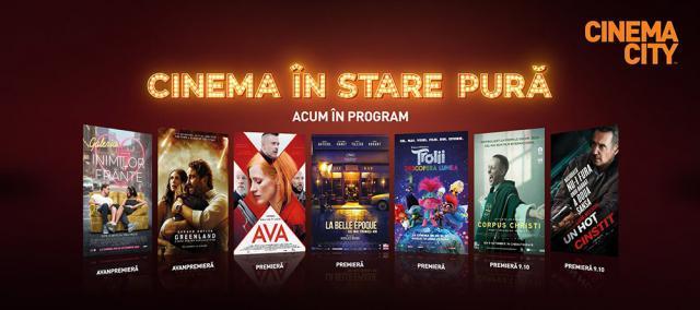 Producții îndelung așteptate de toți iubitorii de film, la Cinema City din Iulius Mall Suceava