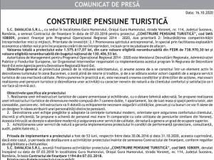 CONSTRUIRE PENSIUNE TURISTICĂ