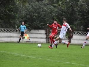 Stoian a înscris din nou pentru Bucovina, ajungând la 5 reușite în acest sezon. Foto Tudy-Sportul botosanean in imagini