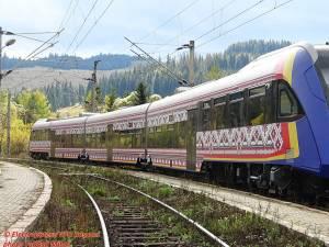Tren românesc teste Mestecăniș. Foto: Mihai Tudosă