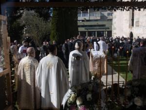 Suceava și-a luat adio de la doctorul Cristian Irimie, cu ceremonial militar cu Gardă de Onoare Foto Ema Motrescu