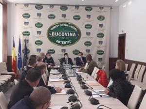 Comitetul Județean pentru Situații de Urgență Suceava a decis, vineri, adoptarea unor măsuri de diminuare a impactului de risc