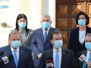 Ludovic Orban și-a anunțat sprijinul pentru proiectele de dezvoltare din județul Suceava