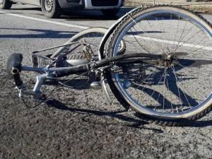Biciclistul a suferit leziuni serioase