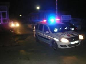 Achipaj de politie aflat in control in miez de noapte