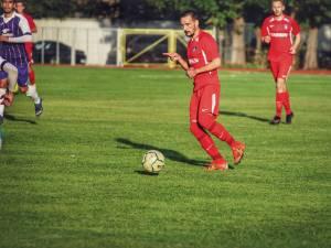 Iulian Ionesi a adus un punct pentru Bucovina grație reușitei din minutul 85. Foto Cristian Plosceac