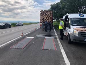 Platforma autorizată de cântărire a ISCTR Suceava, evitată de camionagii cât se poate de legal