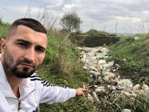Andrei Bacoș și gunoaiele pe care le-a adunat