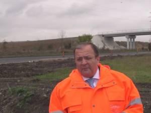 Gheorghe Flutur a verificat stadiul lucrărilor la șoseaua de centură a municipiului Rădăuţi
