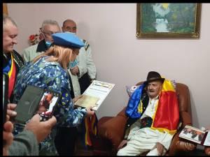 Un veteran de război s-a stins la câteva zile după ce a fost distins la împlinirea a 100 de ani