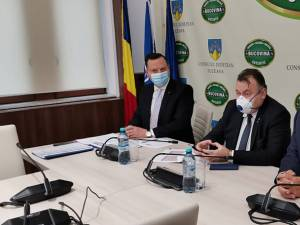 Ministrul Sănătății, Nelu Tătaru, în conferință de presă la Suceava