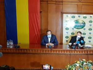 Ministrul Sănătății, Nelu Tătaru, în vizită de lucru la Suceava