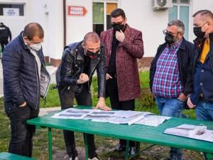Planurile pentru noul spital Covid de la Rădăuți