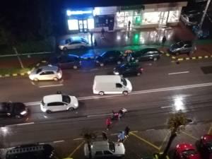 Femeie accidentată în timp ce traversa neregulamentar bulevardul George Enescu