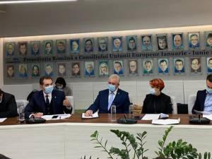Primarul Ion Lungu, prim-vicepreședinte al Asociației Municipiilor din România, în discuții cu reprezentanții Guvernului României