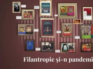 """Salonul caritabil virtual de carte """"Filantropie și-n pandemie"""""""