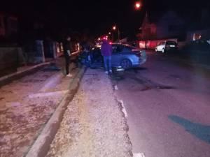 Mașinile implicate în accidentul de la Gălănești