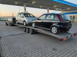 Platforma pentru transport masini