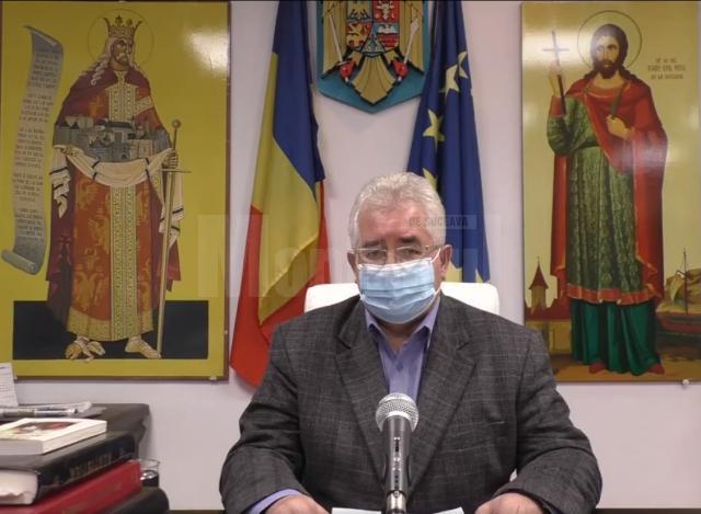 Ion Lungu le mulțumește sucevenilor pentru că respectă regulile și nu s-au înmulțit cazurile de infectări, ca în alte orașe