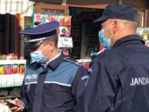 1.300 persoane și 140 societăți comerciale, verificate de polițiști referitor la respectarea restricţiilor