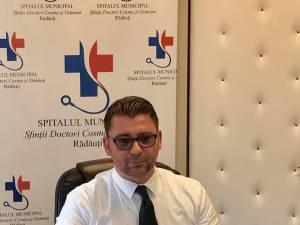 Managerul Spitalului Municipal Rădăuți, Traian Andronachi