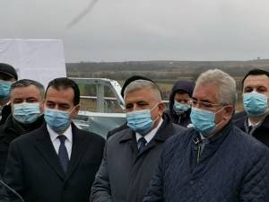 Ion Lungu, prezent la vizita în teren a premierului României, Ludovic Orban, la inaugurarea rutei ocolitoare a municipiului Rădăuți