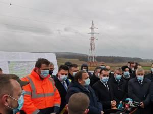 Ion Lungu, prezent la vizita în teren a premierului României, Ludovic Orban, la inaugurarea rutei ocolitoare a municipiului Rădăuți 2