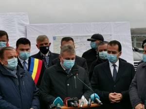 Ion Lungu, prezent la vizita în teren a premierului României, Ludovic Orban, la inaugurarea rutei ocolitoare a municipiului Rădăuți 3