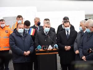 Lucian Bode a spus că actualul Guvern a deblocat marile proiecte de infrastructură din zona Moldovei