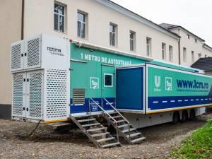 Unitatea mobilă ATI a Spitalului Suceava a fost repusă în funcțiune